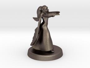 Bethrynna (Eladrin wizardess) in Polished Bronzed Silver Steel