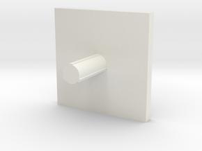 Cap 16 version 3 in White Natural Versatile Plastic