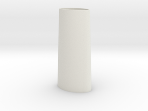 Flicka 1.2 Lighthouse in White Natural Versatile Plastic
