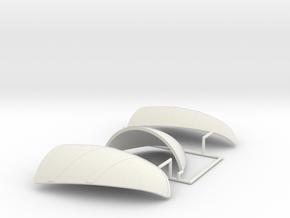 5 of 6 (Auto Gyro) in White Natural Versatile Plastic