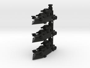 Gothic Artillery x3 in Black Strong & Flexible