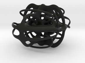 sculpture 1 hatek3d in Black Strong & Flexible