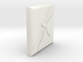 3 inch tile in White Natural Versatile Plastic