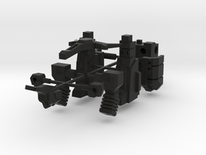 Barrage Bot in Black Strong & Flexible
