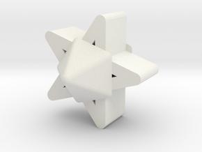 d5 jack blank in White Natural Versatile Plastic