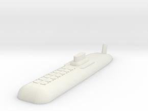 9 SSBN in White Natural Versatile Plastic