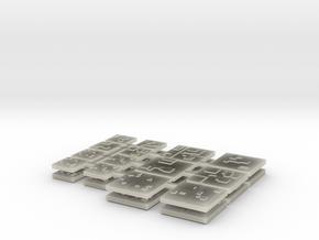 Modular Panels in Transparent Acrylic