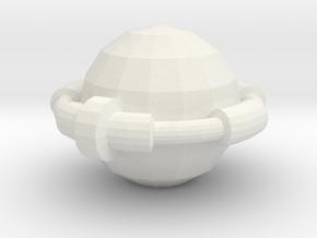 RingBall in White Natural Versatile Plastic