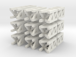 Long Modular Structures in White Strong & Flexible