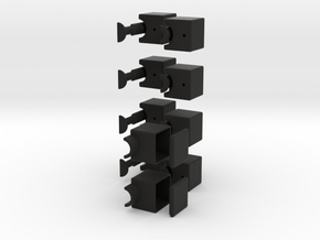 1x2x5 Cuboid in Black Strong & Flexible