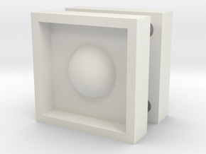 round mould box in White Natural Versatile Plastic