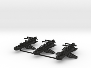9 Ether Torpedo Tender x3 in Black Strong & Flexible