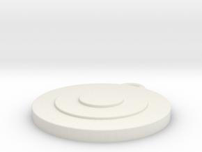 Target 2 in White Natural Versatile Plastic