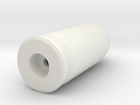 45acp no primer in White Natural Versatile Plastic