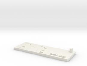 s27 in White Natural Versatile Plastic