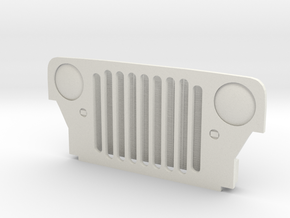 wild willy 2 grill in White Natural Versatile Plastic