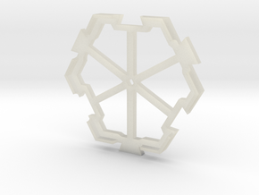 board game hexagon holder in Transparent Acrylic