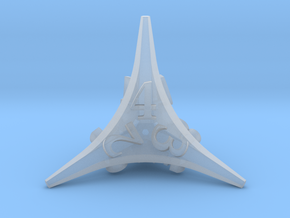 Caltrop d4 in Smooth Fine Detail Plastic