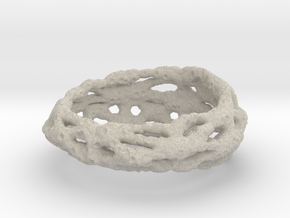 Cellulesque Ring in Natural Sandstone