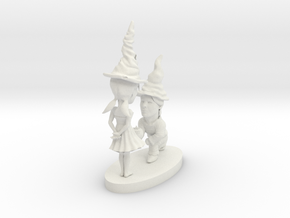 hollow gnomes in White Natural Versatile Plastic