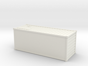 Container (N scale) in White Strong & Flexible