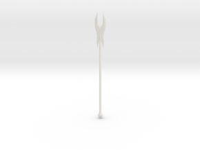 Deadly Spear in White Natural Versatile Plastic