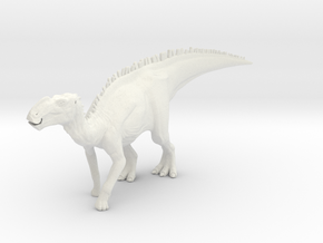 Gryposaurus Dinosaur Small SOLID in White Strong & Flexible
