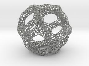 Voroni Runner in Metallic Plastic
