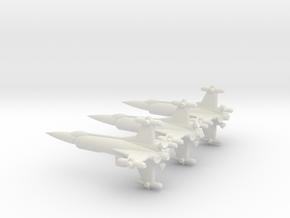 NASC F103 Squad in White Natural Versatile Plastic