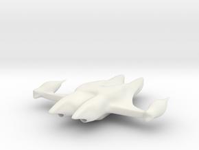 Double Fish in White Natural Versatile Plastic