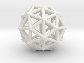 Pentakisdodecahedron in White Strong & Flexible