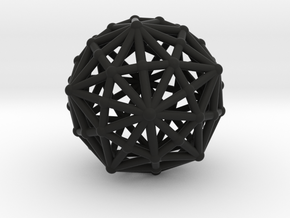 Dysdiakistriacontahedron in Black Strong & Flexible