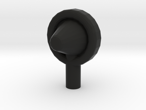 Torpedo Air Vent 1:45 scale. in Black Strong & Flexible