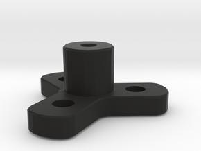 Wheel Mount in Black Strong & Flexible
