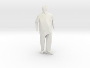 S 3 in White Natural Versatile Plastic