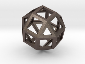 Rhombicuboctahedron in Stainless Steel