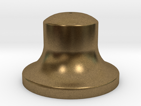 """3/4"""" Scale Bell in Natural Bronze"""