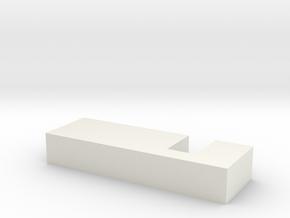 peg in White Natural Versatile Plastic