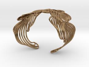Pisces 16cm Bracelet (small) in Raw Brass