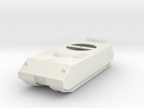 German Maus Tank in White Natural Versatile Plastic