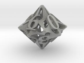 Pinwheel Die10 in Metallic Plastic