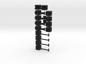 The 1x2x7 Rubiks Cube in Black Strong & Flexible