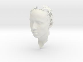 MyHead in White Natural Versatile Plastic