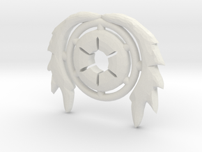 Pilot Crest in White Strong & Flexible