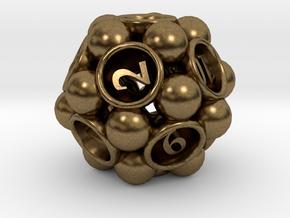 Spore d12 in Natural Bronze
