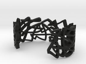 GRAF medium in Black Natural Versatile Plastic