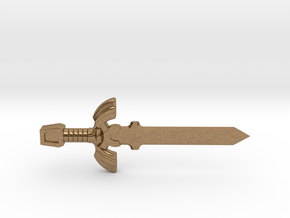 Master Sword in Natural Brass
