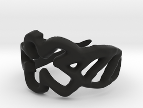 Draw your own ring in Black Strong & Flexible