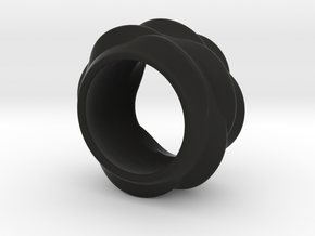 Tree-Ear Light Ring in Black Strong & Flexible