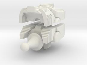 Defensor head mk2 in White Natural Versatile Plastic